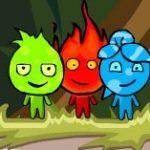 Игра  Огонь и Вода и Земля: Джунгли
