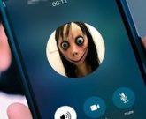Игра Момо телефон, позвонить Момо