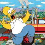 Игра Симпсоны бей и беги