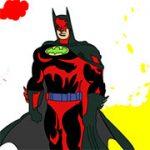 Игра Бэтмен раскраски