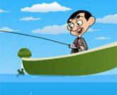 Игра Мистер Бин на рыбалке
