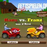 Игра Приключение на тракторах на двоих