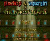 Игра Огонь и Вода Лабиринт