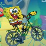 Игра Спанч Боб приключения: На велосипеде по дну