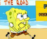 Игра Спанч Боб бродилка: Перейти дорогу