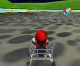 Игра Гонки с Марио в тележках