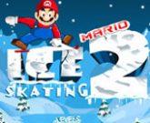 Игра Марио катается на лыжах 2: Опасный спуск