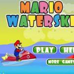 Игра Марио на водном мотоцикле