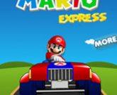 Игра Марио гоняет на тракторе