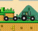 Игра Марио управляет трактором 3: Собираем монетки